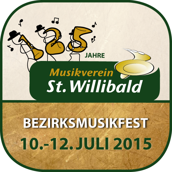 Bezirksmusikfest 2015 in St.Willibald